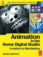 Animation in the Home Digital Studio PDF