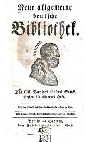 Neue allgemeine deutsche Bibliothek: Band 103