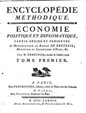 Économie politique et diplomatique: Volume1