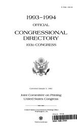 1993 1994 Official Congressional Directory PDF