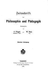 Zeitschrift für Philosophie und Pädagogik: Band 2