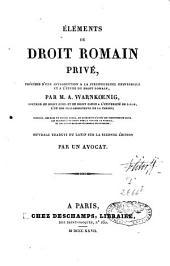 Éléments de droit romain privé