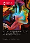 The Routledge Handbook of Cognitive Linguistics PDF