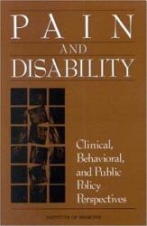 Pain and Disability