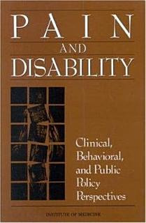 Pain and Disability Book