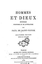 Hommes et dieux. Etudes d'histoire et de litterature. 4. ed. rev. et corr