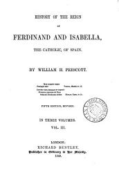History Of The Reign Of Ferdinand And Isabella Book PDF