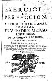 Exercicio de perfeccion y virtudes christianas