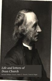 Life and Letters of Dean Church