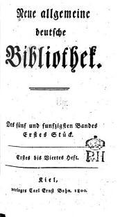 Neue allgemeine deutsche Bibliothek: Band 55