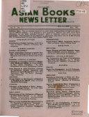 Asian Books News Letter PDF