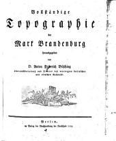 Vollständige Topographie der Mark Brandenburg