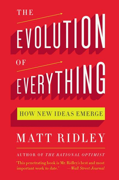 Download The Evolution of Everything Book
