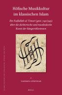 H  fische Musikkultur im klassischen Islam