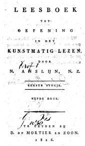 Leesboek tot oefening in het kunstmatig lezen: 1e stukje, Volume 1