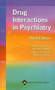 Drug Interactions in Psychiatry Book