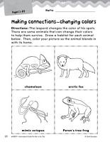 Put Me in the Zoo Making Cross Curricular Connections PDF