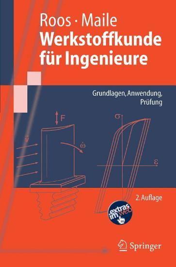 Werkstoffkunde f  r Ingenieure PDF