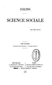 Science sociale: Volume8