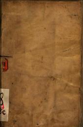 Seminariu[m] siue plantarium earum arborum, quae post hortos conferi solent: quarum nomina, fructus, ite[m] etiam conserendi vcocabula apud authores bene recepta hoc libello declarantur ...