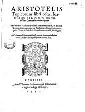 Aristotelis Topicorum libri octo