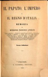 Il papato, l'impero e il regno d'Italia: memoria