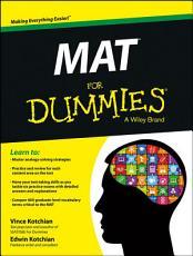 MAT For Dummies PDF