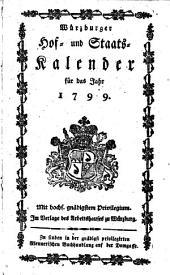 Würzburger Hof- und Staatskalender: für das Jahr ... 1799