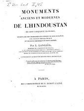 Monuments anciens et modernes de l'Hindoustan