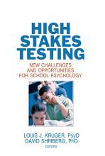 High Stakes Testing PDF