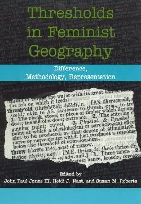 Thresholds in Feminist Geography PDF