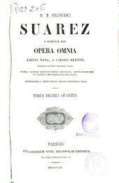 R.P. Francisci Suarez e Societate Iesu Opera omnia: Volume 14