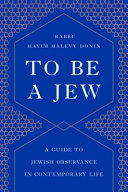 To be a Jew