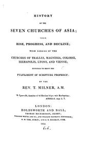 History of the seven Churches of Asia