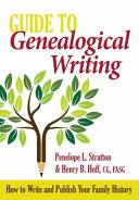 Guide to Genealogical Writing PDF