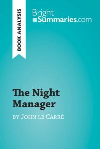The Night Manager by John le Carr    Book Analysis  Book