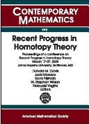Recent Progress in Homotopy Theory