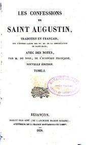 Les confessions de Saint Augustine: Volume1
