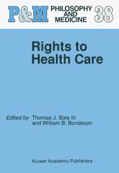 Rights To Health Care Book PDF