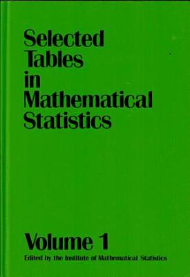 Selected Tables in Mathematical Statistics