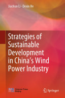 Strategies of Sustainable Development in China's Wind Power Industry