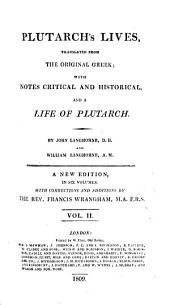 Plutarch's Lives, 2: Translated from the Original Greek