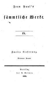 Jean Paul's sämmtliche Werke: Bände 61-63