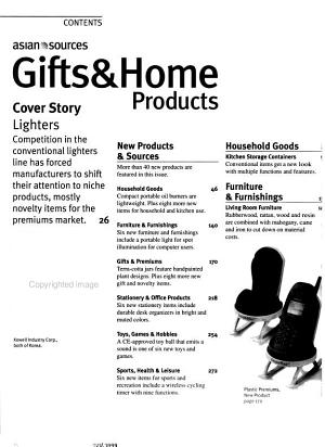 Asian Sources Gifts & Home Products