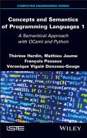 Concepts and Semantics of Programming Languages 1 PDF