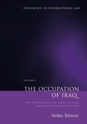 The Occupation of Iraq  Volume 2 PDF