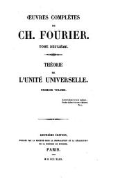 Théorie de l'unité universelle: Volumes1à2