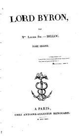 Lord Byron: Volume2