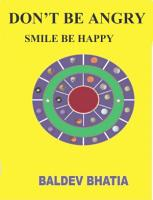 DON T BE ANGRY  SMILE BE HAPPY PDF