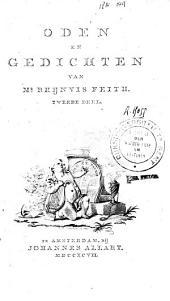 Oden en gedichten: Volume 2